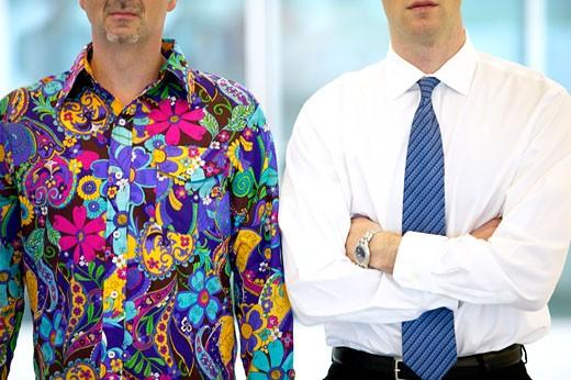 Stock Photo: 1779R-15402 Businessman in casual attire