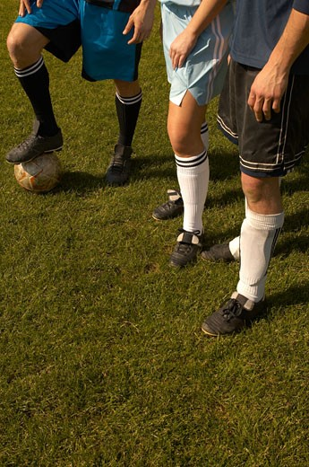 Stock Photo: 1779R-2129 Soccer players' shin guards