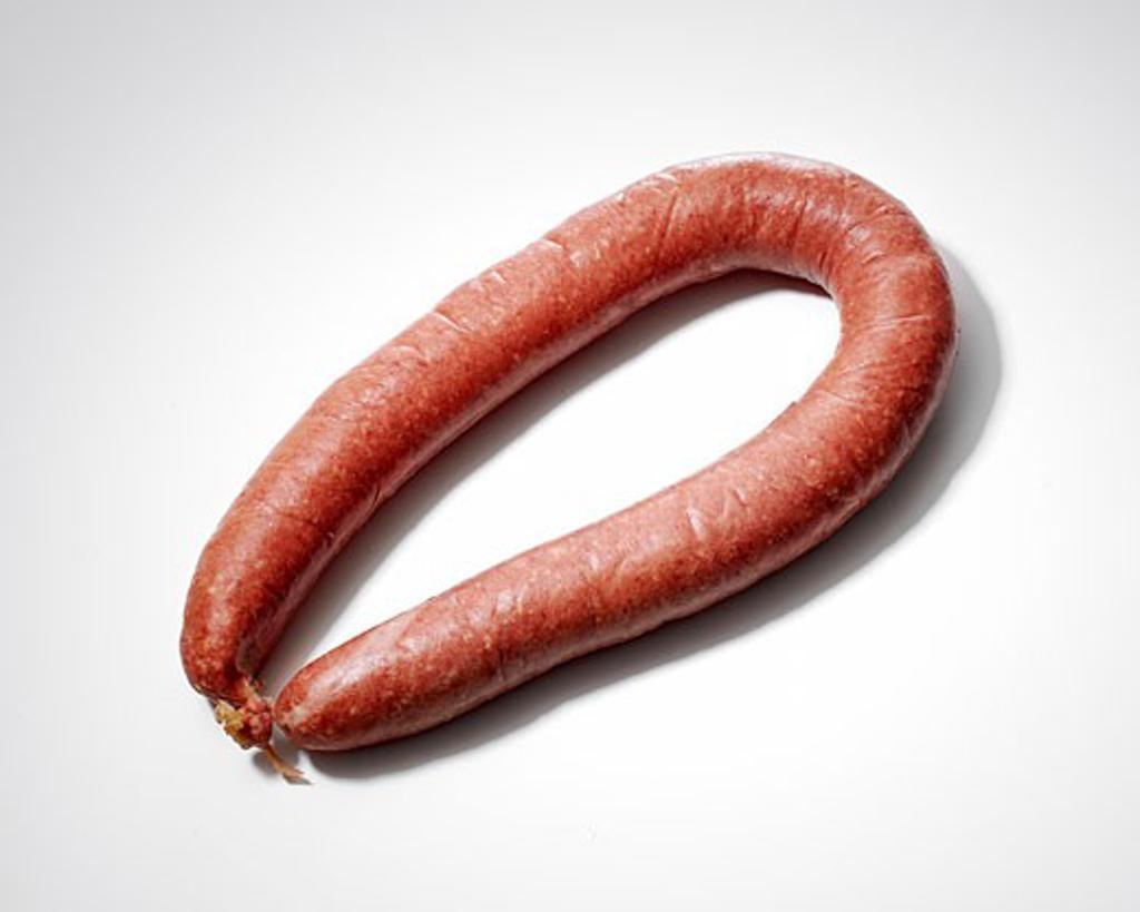 Stock Photo: 1779R-6305 Sausage link