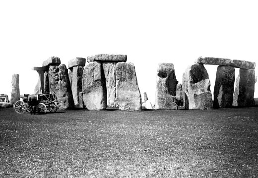Stonehenge, 1887 : Stock Photo