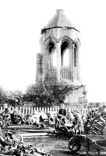 Shrewsbury, Stone Pulpit 1891 : Stock Photo