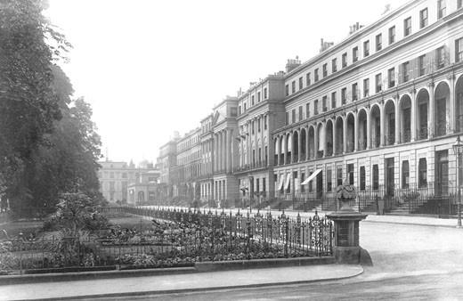 Cheltenham, Upper Promenade 1901 : Stock Photo