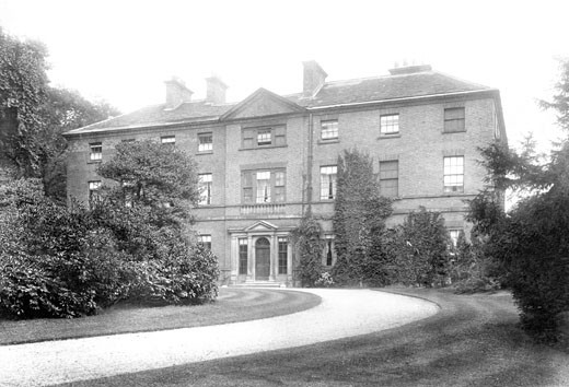 Chesterfield, Tapton House 1902 : Stock Photo