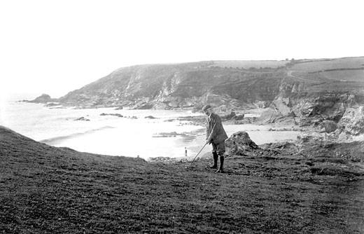 Mullion, Golf Links 1911 : Stock Photo
