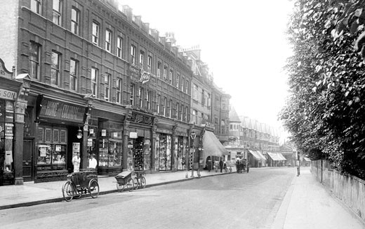 Harrow on the Hill, Station Road 1914 : Stock Photo