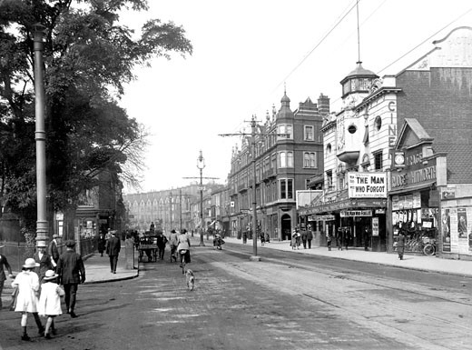 Norwich, Prince of Wales Road 1919 : Stock Photo