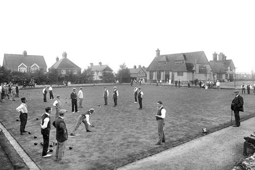 Hindhead, Beacon Hill Bowling Club 1921 : Stock Photo