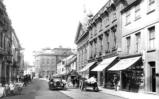 Hertford, Fore Street 1922 : Stock Photo