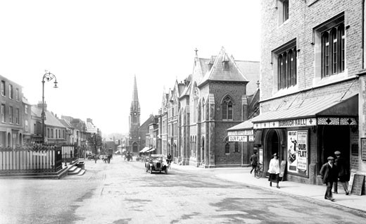 Guildford, North Street 1923 : Stock Photo