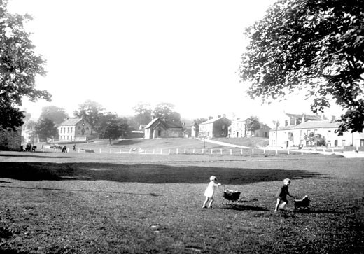 Bainbridge, the Green 1929 : Stock Photo