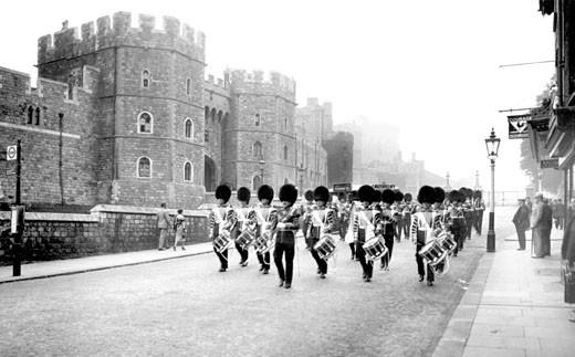 Windsor, Castle Hill 1937 : Stock Photo