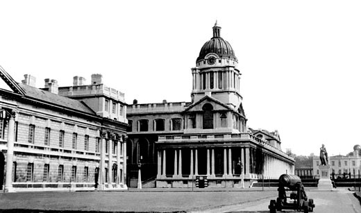 Greenwich, the Royal Naval College 1951 : Stock Photo