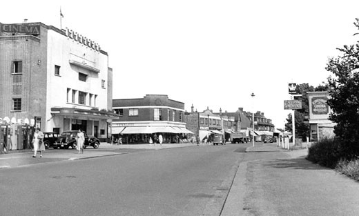 Hadleigh, Kingsway c1950 : Stock Photo