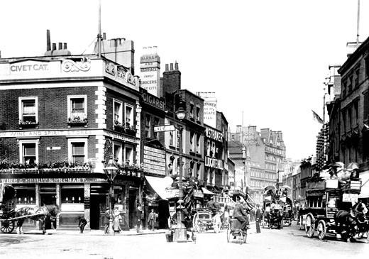 Kensington, High Street 1899 : Stock Photo