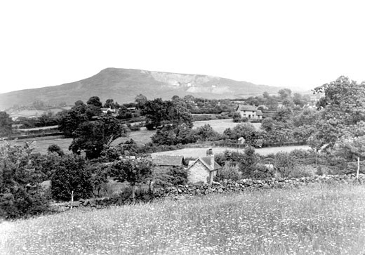 Titterstone, Clee Hill c1955 : Stock Photo