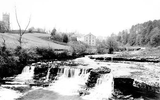 Aysgarth, Falls 1889 : Stock Photo
