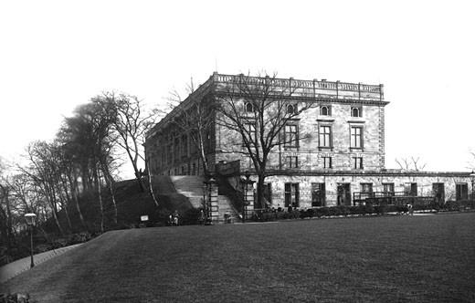 Nottingham, Castle 1890 : Stock Photo