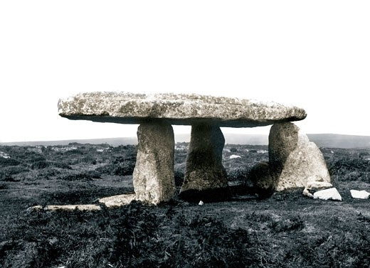 Lanyon Quoit, 1890 : Stock Photo
