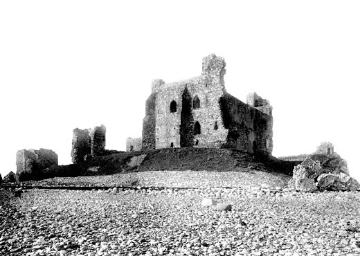 Barrow-in-Furness, Piel Castle 1893 : Stock Photo