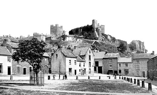 Richmond, the Castle from the Green 1898 : Stock Photo