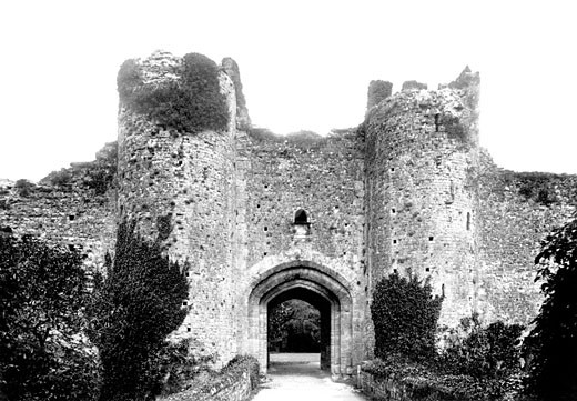Amberley, the Gatehouse 1898 : Stock Photo