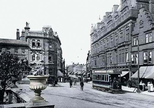 Darlington, Northgate 1901 : Stock Photo