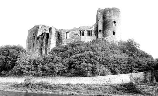 Cockermouth, Castle 1906 : Stock Photo