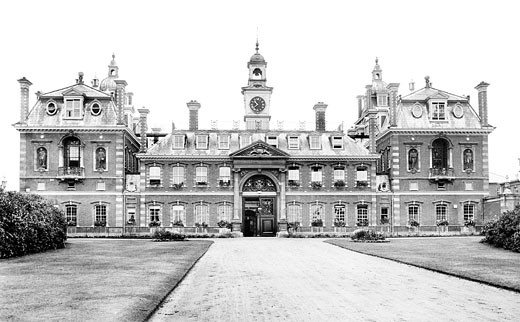 Wellington College, 1906 : Stock Photo