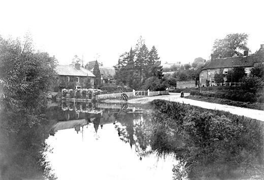 Ramsbury, Town Mill 1907 : Stock Photo