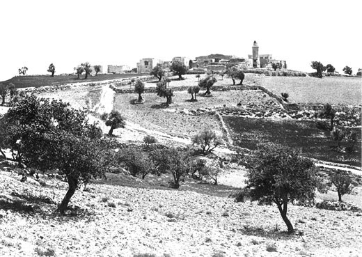 Jerusalem, Church of the Ascension c1857 : Stock Photo