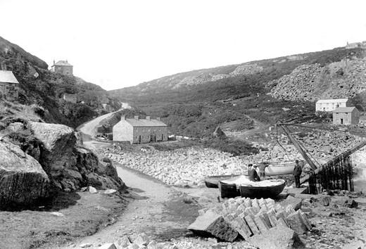 Lamorna Cove, 1908 : Stock Photo