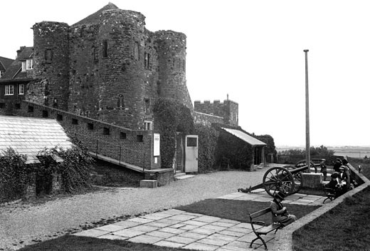 Rye, Ypres Castle 1912 : Stock Photo