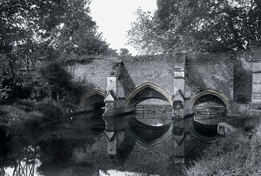 Bury St Edmunds, Abbey Bridge 1922 : Stock Photo