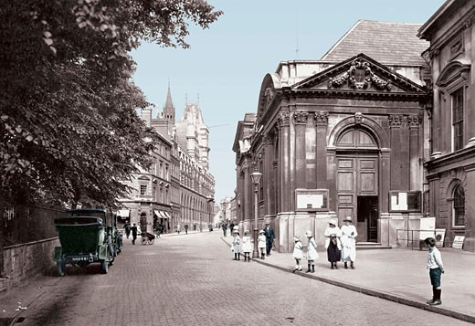 Northampton, George Row 1922 : Stock Photo