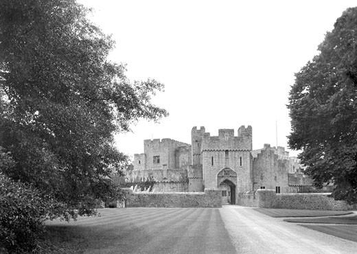 St Donats Castle, 1937 : Stock Photo