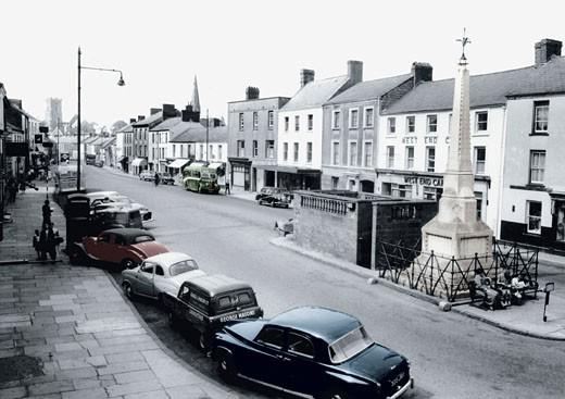 Carmarthen, Lammas Street 1959 : Stock Photo