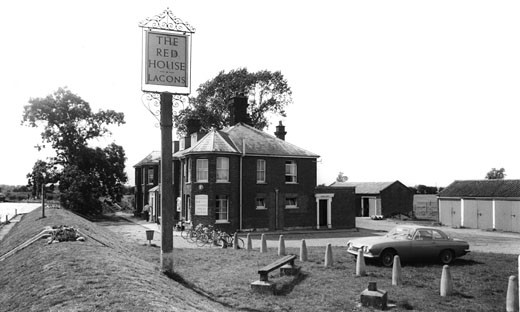 Cantley, Red House Hotel c1965 : Stock Photo