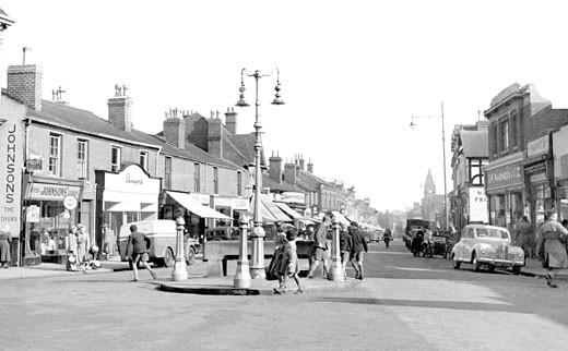 Harborne, High Street c1955 : Stock Photo
