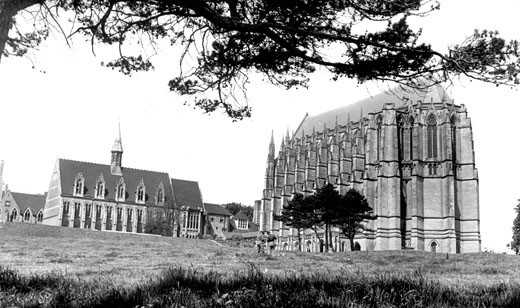 Lancing College, c1960 : Stock Photo
