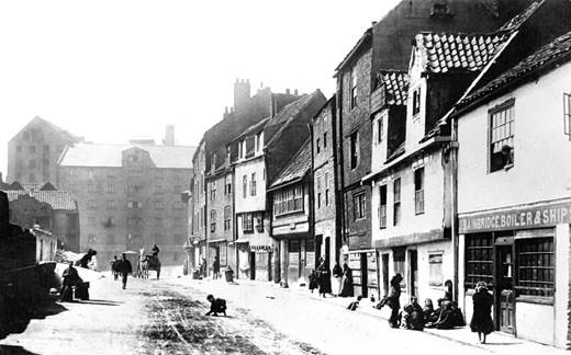 Newcastle upon Tyne, Sandgate 1900 : Stock Photo