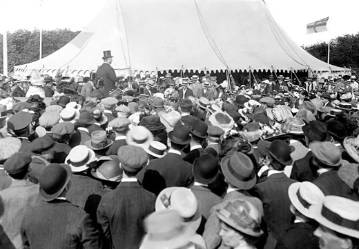 Reigate, the Pageant 1913 : Stock Photo