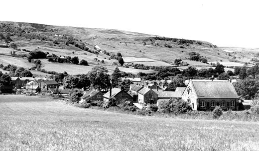 Rosedale Abbey, c1955 : Stock Photo