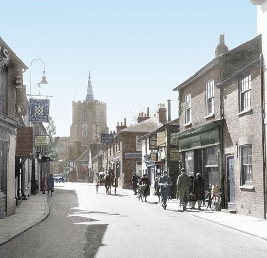 Rickmansworth, Church Street 1952 : Stock Photo