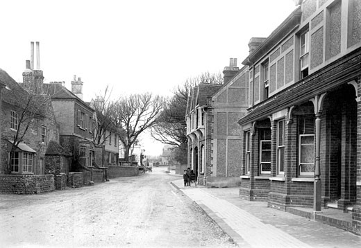 Rottingdean, Street 1896 : Stock Photo