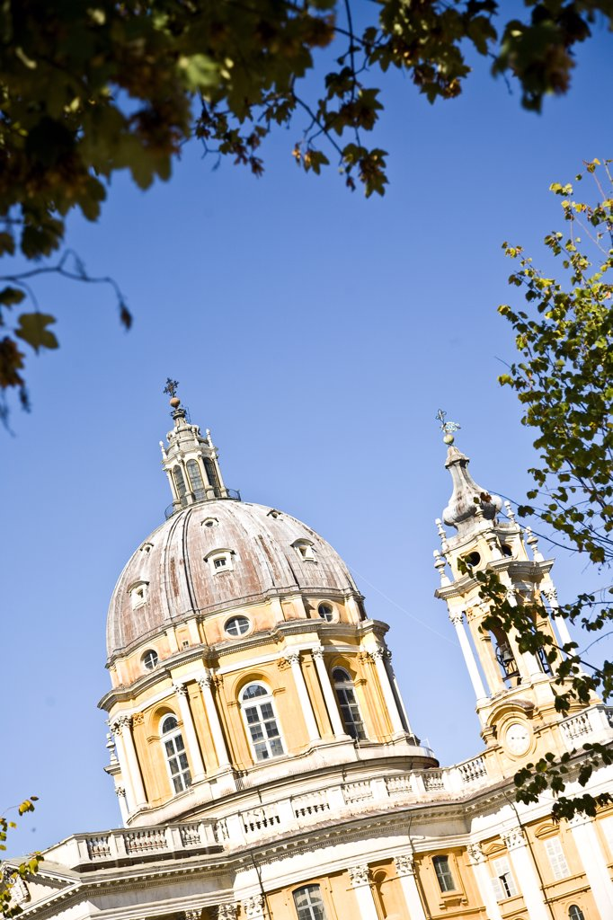 Basilica of Superga exterior, Turin, Italy. : Stock Photo