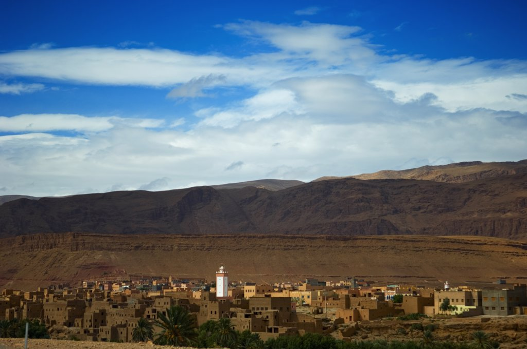 Tinerhir, Todra Valley, Morocco. : Stock Photo
