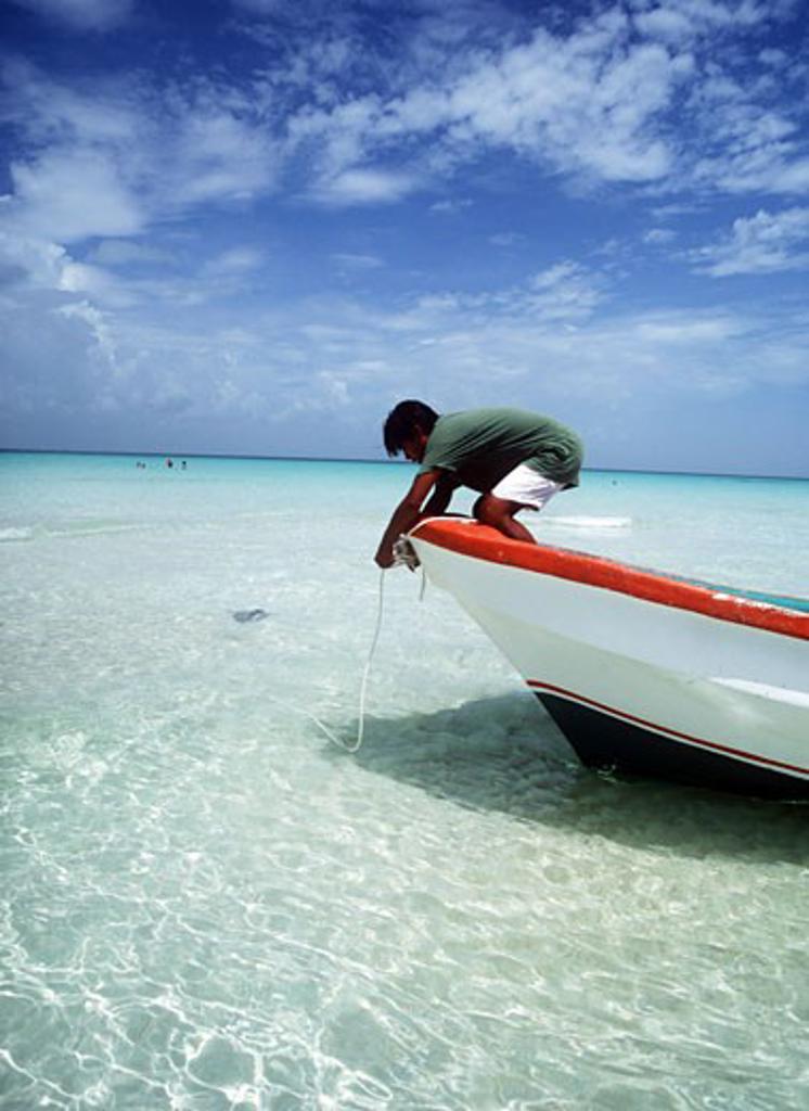 Isla Mujeres, Caribbean coast , Mexico. : Stock Photo