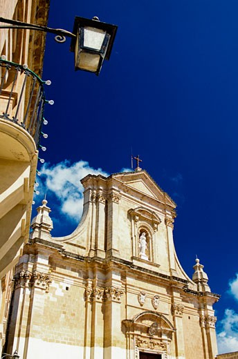 Stock Photo: 1783-18456 Victoria Basillica, Gozo, Malta.