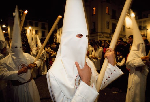 Stock Photo: 1783-19966 Semana Santa or Holy Week in Seville, Seville, Spain