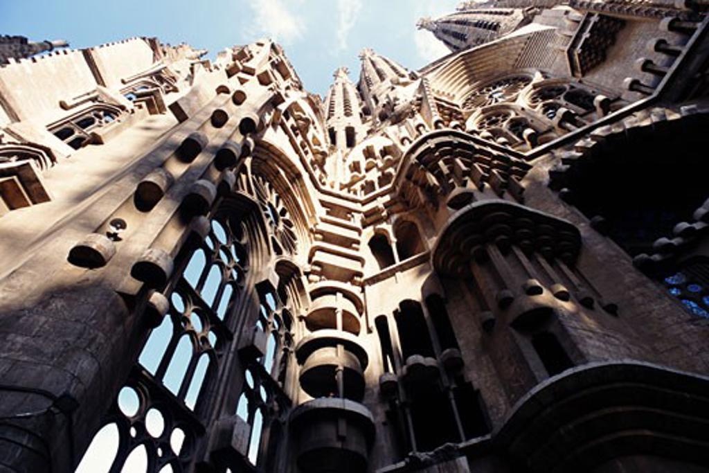 Stock Photo: 1783-20180 Temple of Sagrada Familia, Barcelona, Spain